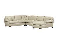 Living Room Furniture, Santana Sectional, Living Room Furniture | Havertys Furniture: Living Room