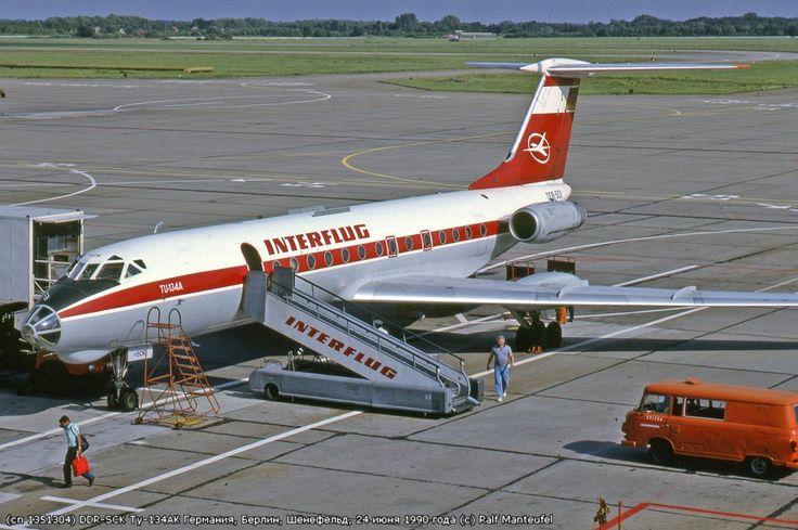 Interflug Tupolev Tu134