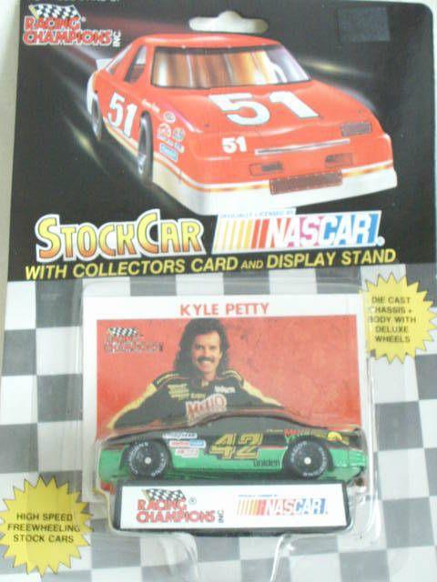 1991 Racing Champions #42 Kyle Petty Mello Yello Pontiac Grand Prix 1:64 #RacingChampions #Pontiac