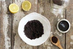 How to Make DIY Coffee Scrub | Citrus Coffee Body Scrub