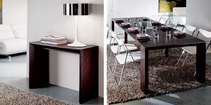 Goliath Console Table Extends To A Full Dining Table