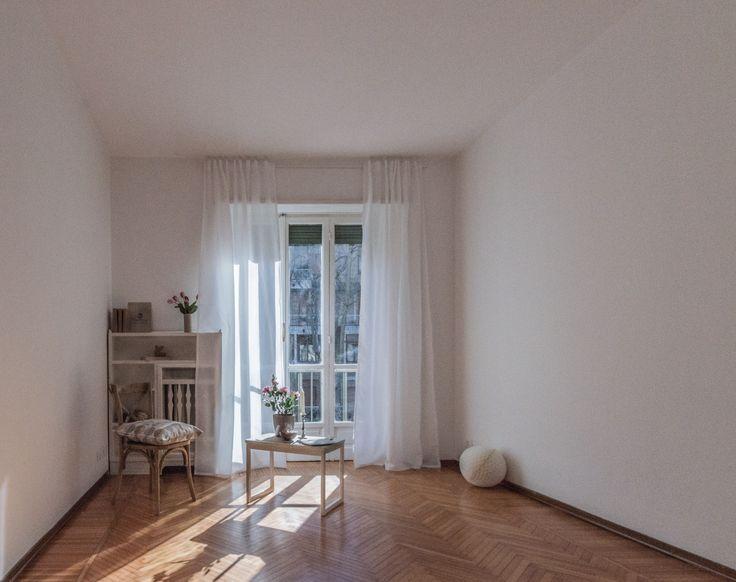 Home staging in collaborazione con  Marrese arredamenti - Appartamento vuoto a Torino - Zona Crocetta - 110mq - Cameretta - (03/2016)