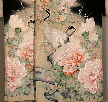 Best 25 traditional kimono ideas on pinterest japanese for Most popular fabric patterns