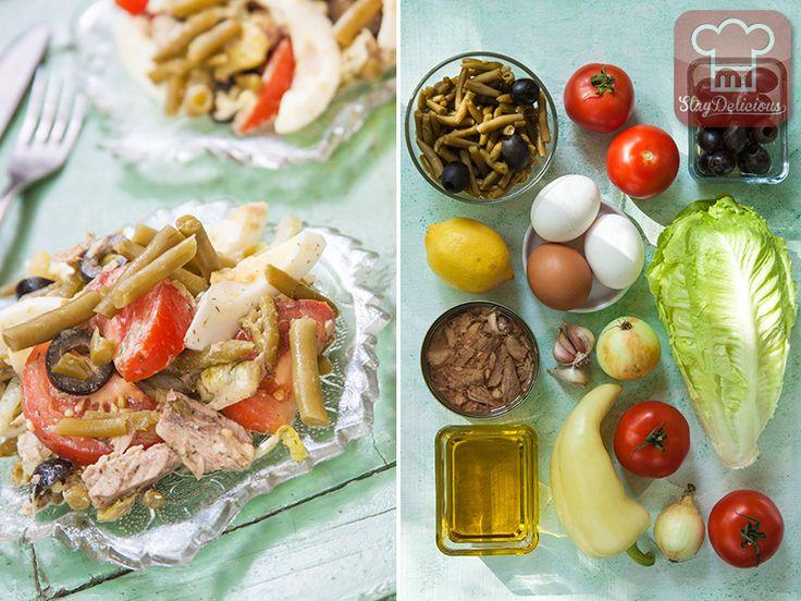 Салат Нисуаз. Рецепт с фото | Кулинарный журнал Stay Delicious