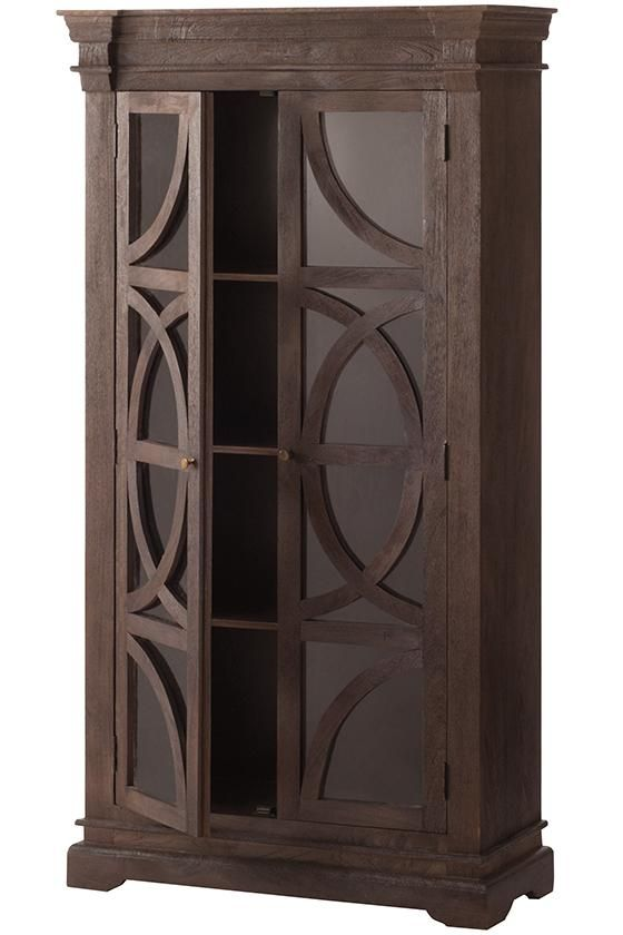 Talk about one stylish bookcase. This decorative piece really ups the look  of the traditional. Bookcase With Glass DoorsHallway ... - 25+ Best Ideas About Bookcase With Glass Doors On Pinterest
