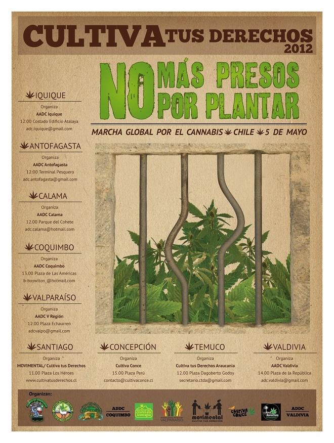 Marcha global por la cannabis 5 de mayo 2012