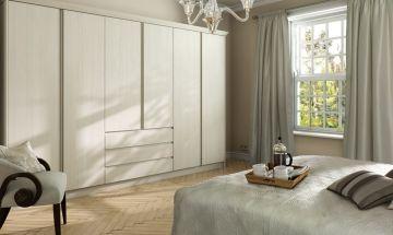 Cream Bedroom Doors - By BA Components