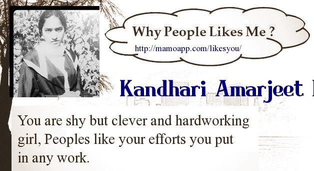 Hey Find Out Why People Like You? using Facebook Fun App | Find your result Click Here