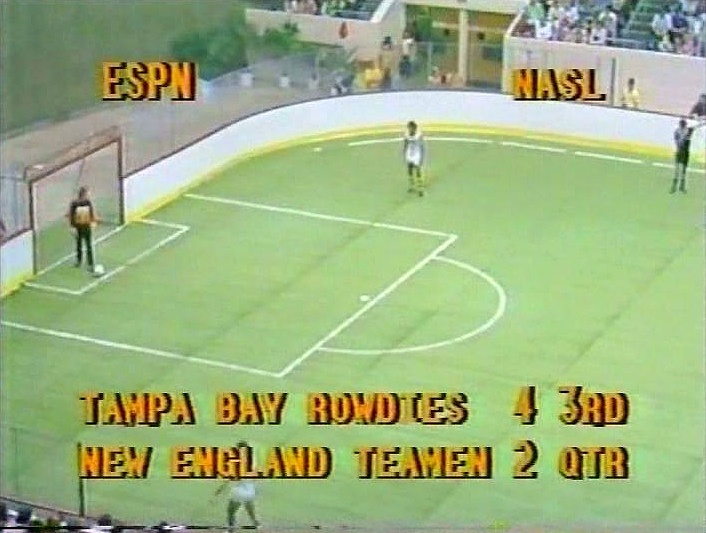 Indoor Action From 1979 80 Season Live On The Then Fledgling Entertainment And