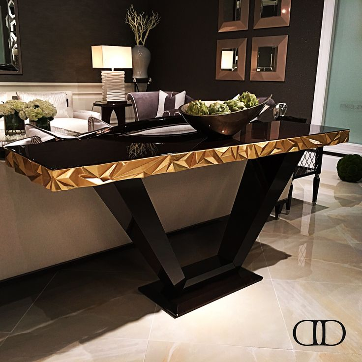 Alluring Style: Dorya's brand-new D1058 Jager Console debuting at this #hpmkt #hpmkt2016 #Dorya #DoryaHome #DoryaInteriors #Luxury #LuxuryLiving #LuxuryFurniture #Trend #Trending #Style #Fashion