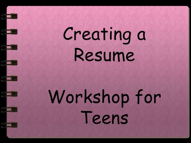Best 25+ High school resume ideas on Pinterest High school life - how to write a resume for teens