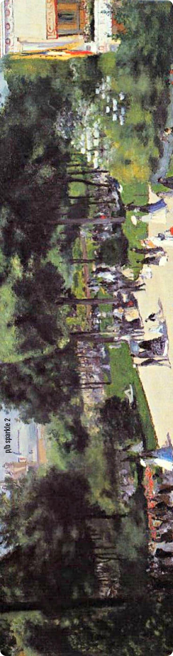 Pierre-Auguste Renoir (1841-1919): The Champs Elysees during the Paris Fair of 1867, 1867