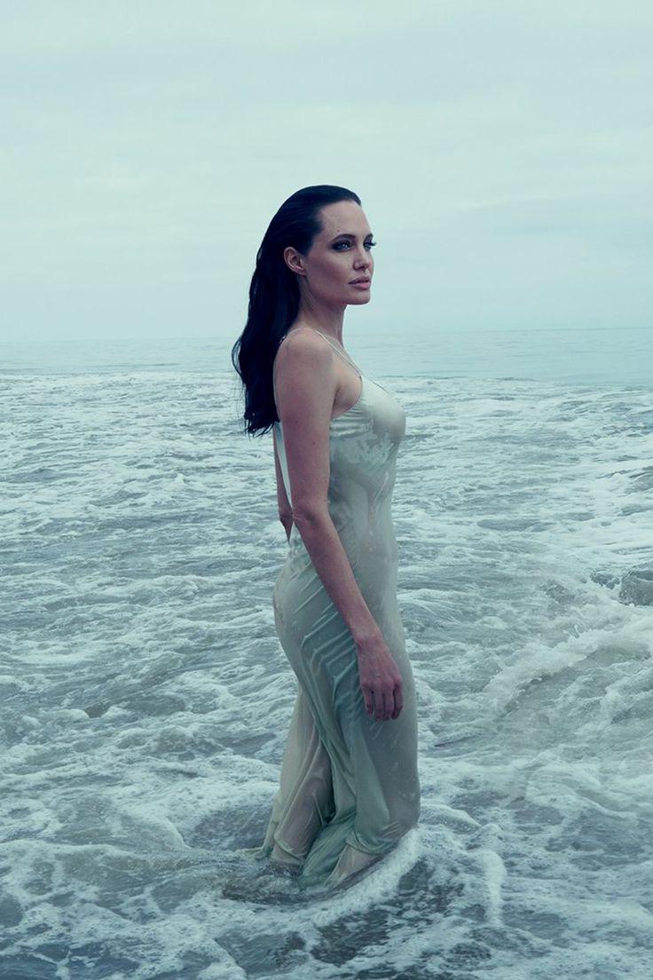Angelina Jolie Pitt by Annie Leibovitz for Vogue US, November 2015