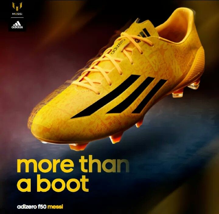 Lionel Messi's new Adizero Shoes
