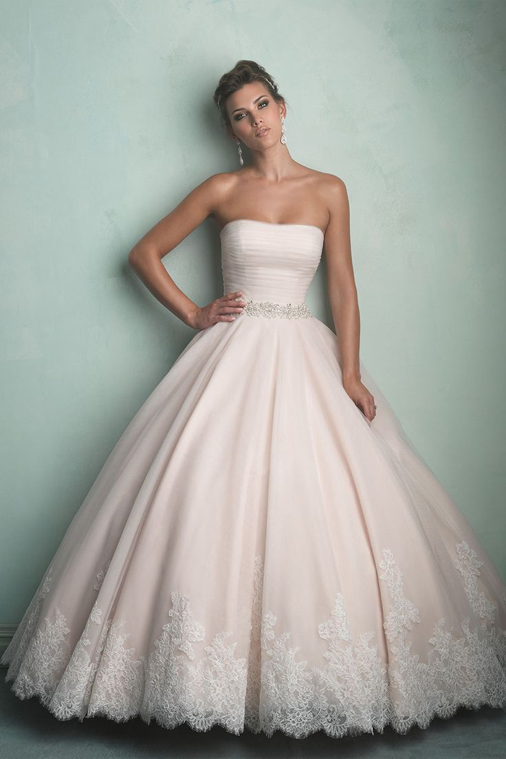 Allure Bridals Wedding Dresses 2014 Collection. To see more: http://www.modwedding.com/2014/07/09/allure-bridals-wedding-dresses-2014-collection/ #wedding #weddings #wedding_dress
