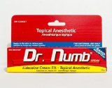 30 gram AUTHENTIC Dr Numb Skin Numbing Cream Tattoo Laser Waxing Piercings