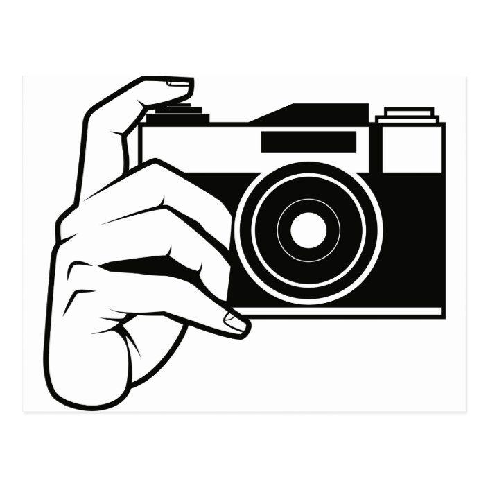 15+ Cute Camera Clipart Black And White