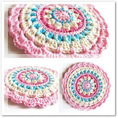 crochet potholder free pattern | Crochet Cricket