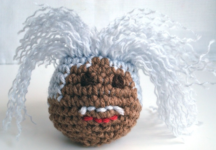 TOO MUCH HAIR!!!  http://www.crochetme.com/blogs/kim_werker/archive/2008/12/6/joss-whedon-on-crafts-and-craftiness-interview-transcript.aspx