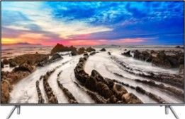 "Samsung - 55"" Class (54.6"" Diag.) - LED - 2160p - Smart - 4K Ultra HD TV with High Dynamic Range - Larger Front"