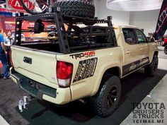 2016 Tacoma Bed Rack - SEMA 2015 Toyota