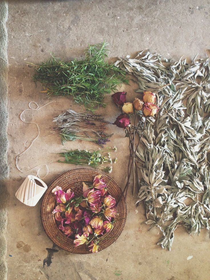 HERBAL | FLORAL SMUDGE WANDS