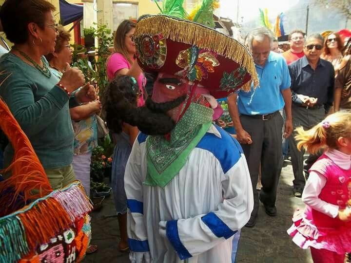 Chinelo danzante de la región de Morelos