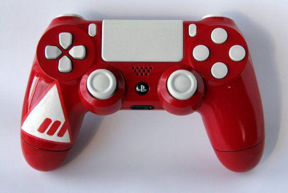Custom Destiny New Monarchy Playstation 4 by DevidedPursuits