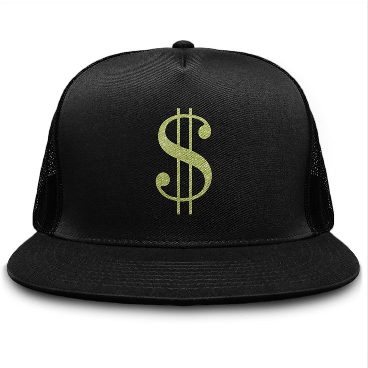 Dollar sign hat