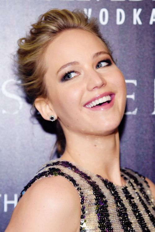 Jennifer Lawrence at the Serena premiere on March 21, 2015  in NYC