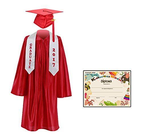 Graduationmall Kindergarten Graduation Cap Gown Stole Pac Https