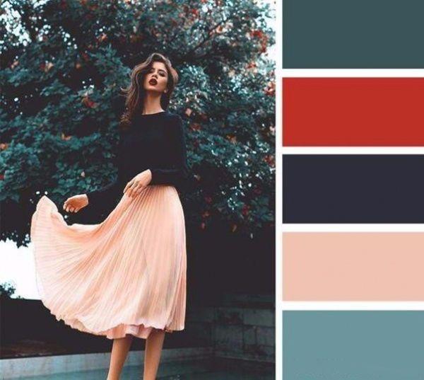 Гармоничные сочетания цветов в одежде для непредсказуемой осенней погоды - Ярмарка Мастеров - ручная работа, handmade