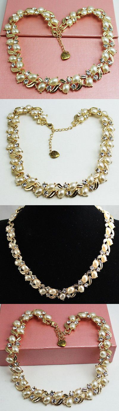 Christmas Gift Ideas: New Fashion Beautiful Venetian Pearl Necklace Christmas Gift K301 BUY IT NOW ONLY: $0.01