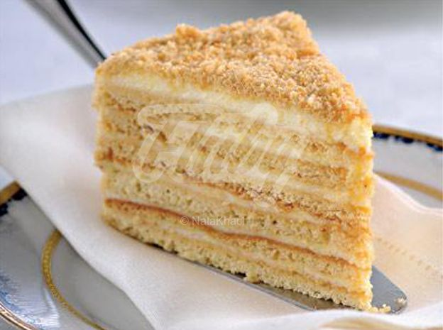 """Honey Cake """"Favorite"""". Recipes with photos of delicious cakes."""
