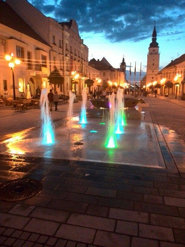 Trnava, centrum Slovakia