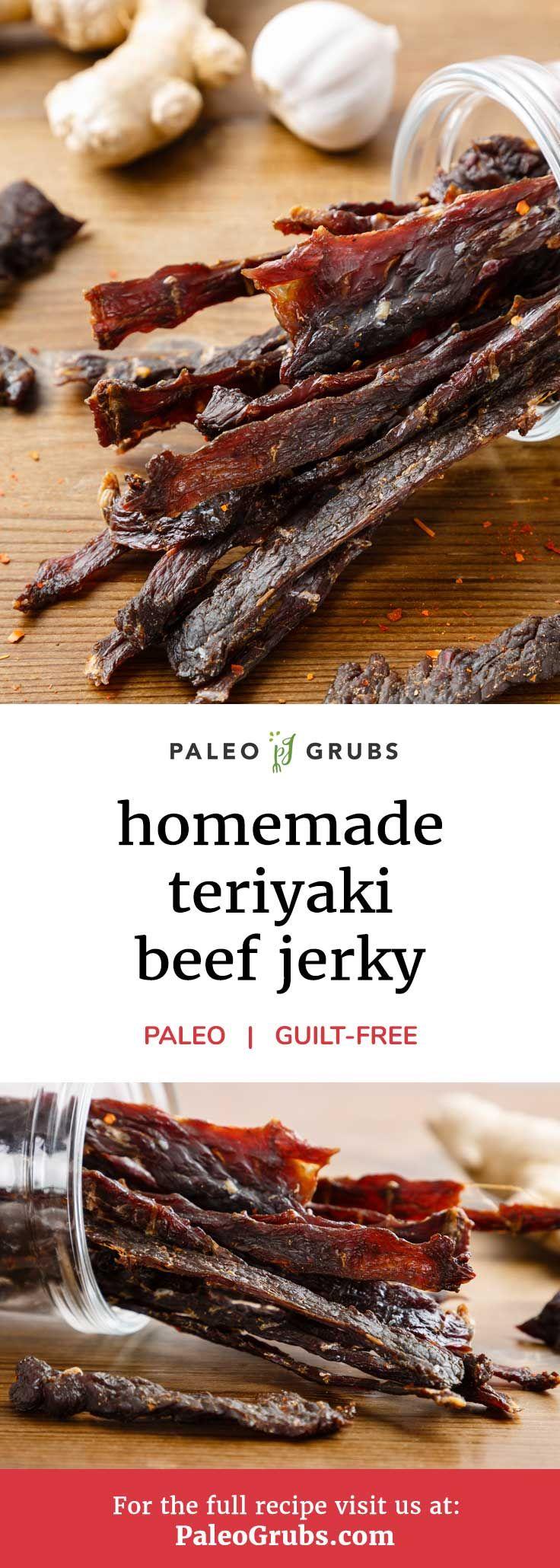 Hausgemachtes Gras gefüttertes Teriyaki-Trockenfleisch vom Rind – das beste Trockenfleisch-Rezept aller Zeiten