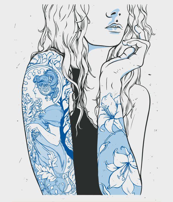 Illustration_human / Arts Recrafted Poster Illustration on Behance