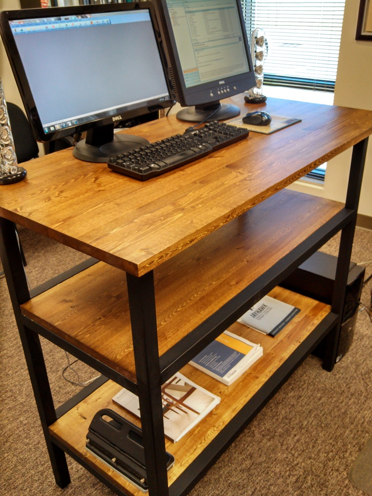 Stand Up Office Designs : Best images about stand up desk on pinterest