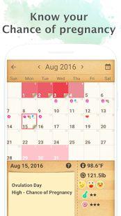 Period Tracker, My Calendar- thumbnail ng screenshot