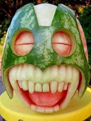#funny watermelon art Like it, Thanks :) See more ---> http://robrayo.com