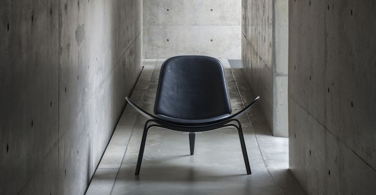 Shell chair by Hans J. Wegner Danish Interior Design Budapest
