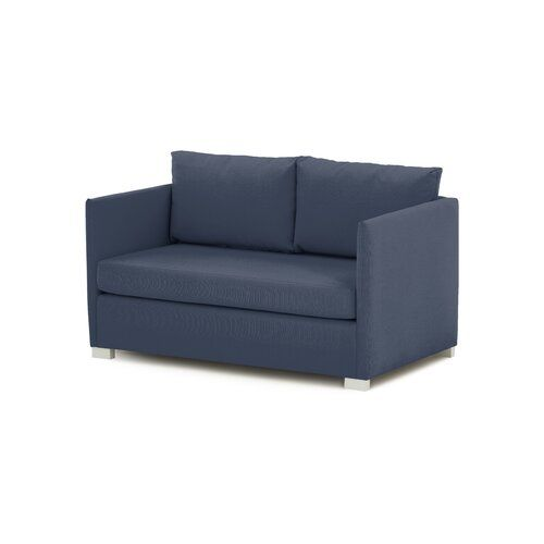 Holliman Sofa Bed 17 Stories Upholstery Colour Blue Schlafsofa Sofa Polster