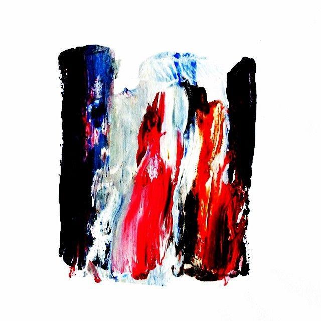 """UNTITLED"" Acrylic on paper. Black-Hard Artstudio @blackhardartstudio Instagram photos | Webstagram"