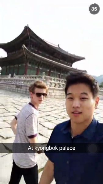 Thank you God for Ki Hong Lee's snapchat  They're in Korea!!