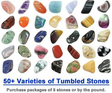 Polished Stone Identification - Pictures of Tumbled Rocks
