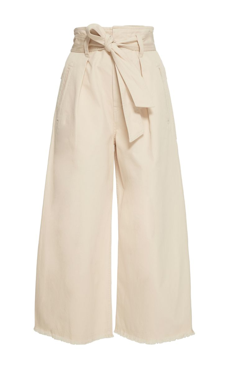 Odea Cropped Wide Leg Pants by ISABEL MARANT ÉTOILE Now Available on Moda Operandi