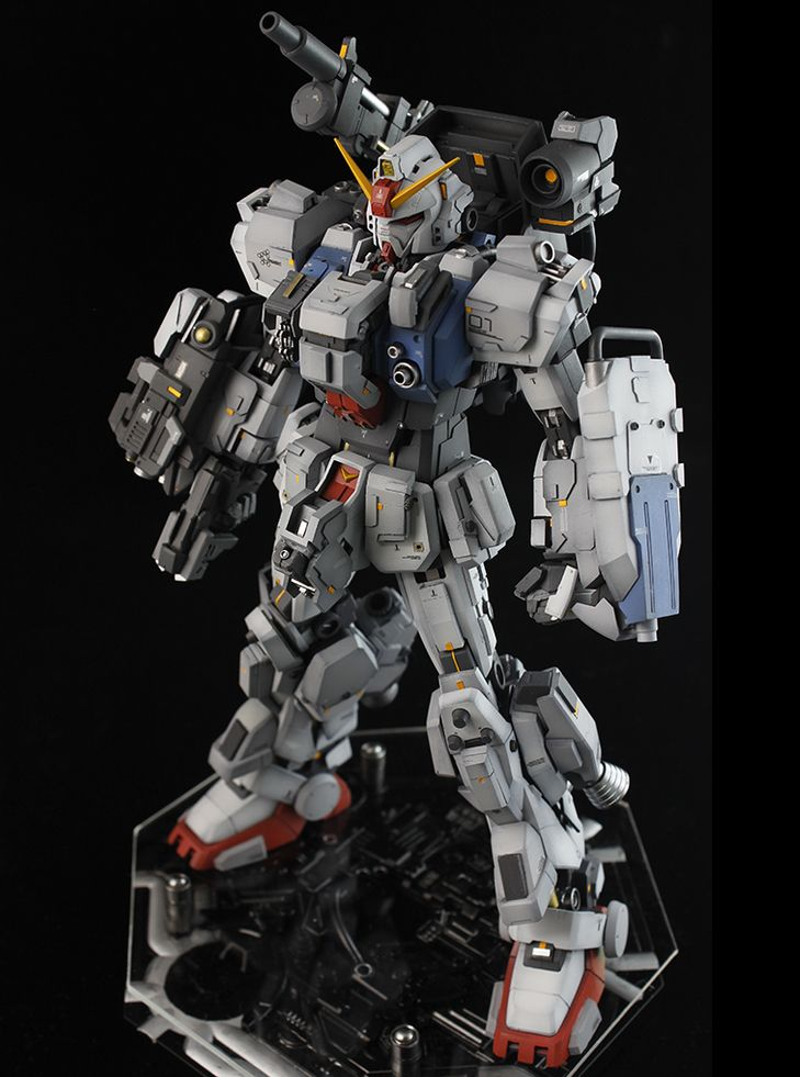 GUNDAM GUY: MG 1/100 Gundam Ground Type - Custom Build
