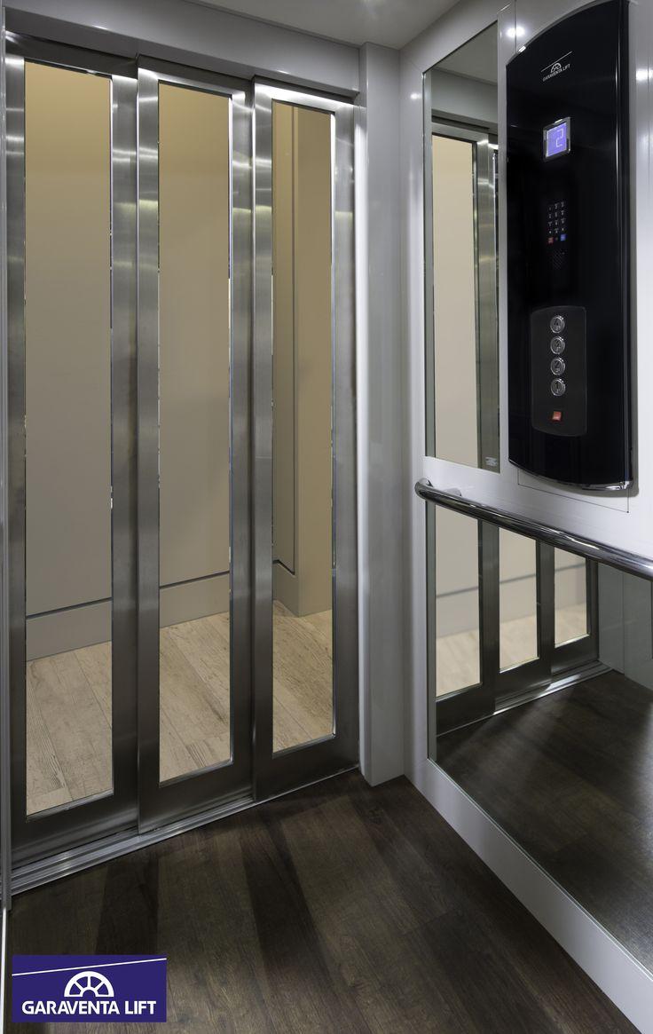 ordinary www garaventalift com #3: 2016 Garaventa Home Elevator Cab. Glass Elevator cab, Featuring automatic  side sliding doors in