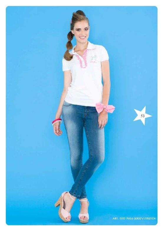 #Polo Jersey Stretch #LollyStar - #tshirt #SpringSummer