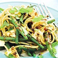 Recept - Pasta met sperziebonen - Allerhande